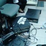 ติดตั้งกล้องวงจรปิดระบบ Analog @Somerset Lake Point Bangkok