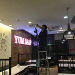 ติดตั้งกล้องวงจรปิดระบบ Analog Camera @Yumsaap