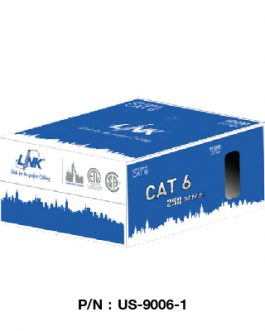 US-9006-1,CAT 6 LAN CABLE, LAN(UTP)