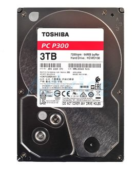 1 TB SATA-III Toshiba P300 Red (64MB., 7200RPM)