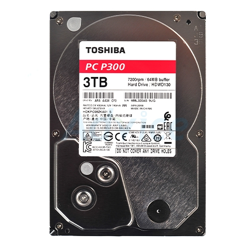 3 TB SATA-III Toshiba P300 Red (64MB., 7200RPM)