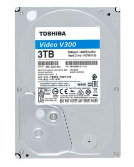 3 TB SATA-III Toshiba V300 Blue (64MB., 5940RPM) For CCTV