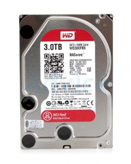 3 TB SATA-III WD Red NAS (64MB, 5400RPM)
