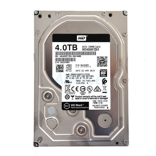 4 TB SATA-III WD Black (256MB,7200RPM)