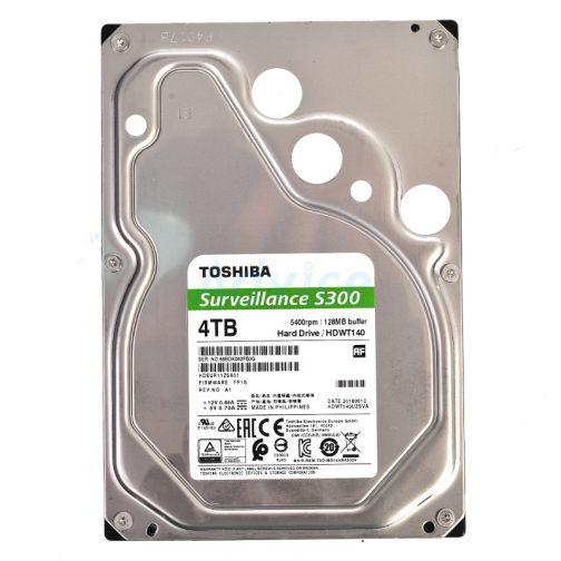 4.TB SATA-III Toshiba S300 (128MB., 5400RPM) For CCTV