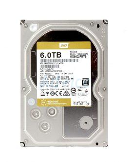 6 TB SATA, WD Gold ,128MB, 7200RPM