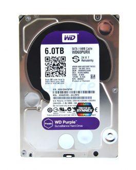 6 TB SATA,WD Purple ,64MB, 5400RPM