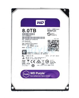 8 TB SATA-III WD Purple (128MB, 5400RPM)